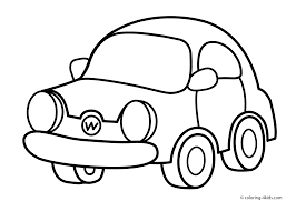 cartoon car drawing coloring pages printable free drawing for kids to know about art