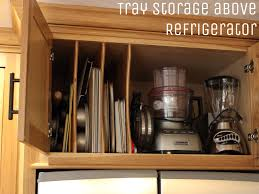 28 above refrigerator storage remodelaholic build a cabinet above refrigerator storage above fridge kitchen cabinets kitchen