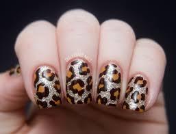 leopard nails nails10