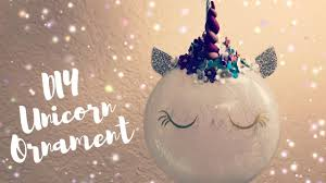 how to make unicorn ornaments polymer horn diy cricut