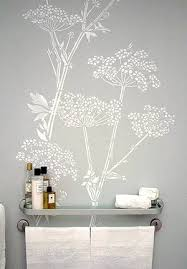 bathroom wall stencil ideas s lace stencil for the front of the dresser and