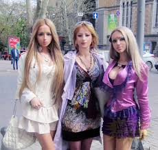 human barbie doll meet the family of real life barbie valeria lukyanova their