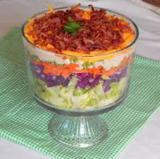 s 7 layer salad salads recipes and foods