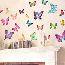 butterfly world wall decals stickers appliques home decor butterfly world wall decals stickers appliques home decor amazon ca baby