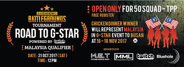 pubg qualifiers pubg tournament road to g star powered mineski events team