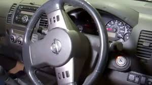 nissan navara 2008 interior how to remove the steering wheel u0026 airbag on a nissan navara d40