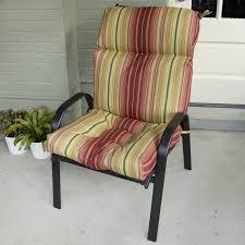 High Back Patio Chair High Back Outdoor Chair Cushions Modern Design Ideas