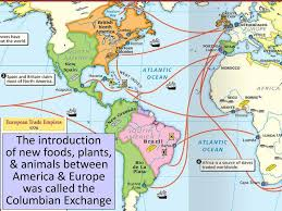 Columbian Exchange Map Essential Question What Were The Global Impacts Of The European