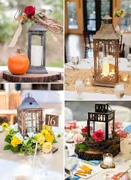 Wedding Centerpieces For Round Tables by Best 20 Rustic Lantern Centerpieces Ideas On Pinterest Table