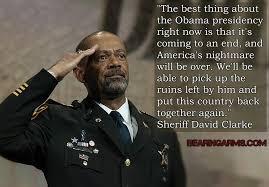 Obama Shooting Meme - meme of the day sheriff clarke crossfire defense academy range