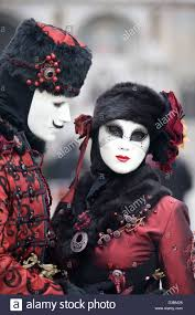 venetian costume dressed in traditional venetian costume wearing a bauta