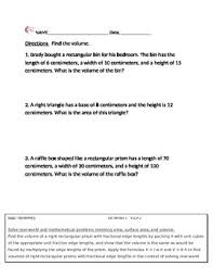 6 g a 2 geometry word problems 6th grade common core math