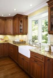 Top Kitchen Design Traditional Dark Wood Cherry Kitchen Cabinets 35 Kitchen Design
