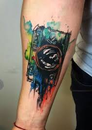 50 amazing calf tattoos watercolour tattoos music lovers and