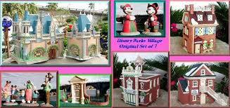 complete set of 10 disney parks