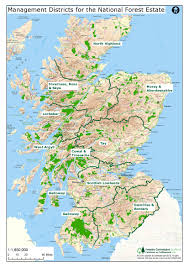 National Map Forestry Commission District Strategic Plans For The National