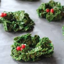 christmas cornflake wreath cookies recipe details calories