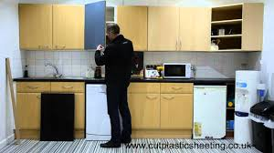 how to insert glass in cabinet doors how to transform your kitchen using acrylic perspex door fronts