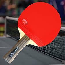 custom table tennis racket custom professional table tennis paddle with gambler mega weave