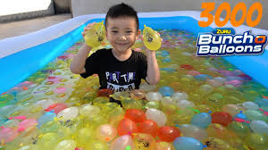 bunch balloons 3000 bunch o balloons kids pool water fight