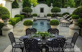 Beautiful Patio Gardens Pretty Polished Garden In Illinois Traditional Home