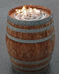 build a propane fire pit convert a wine barrel into a safe outdoor firepit