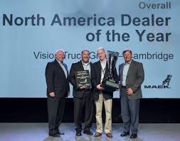 mack truck dealers vision truck group named macks 2016 north american dealer of the