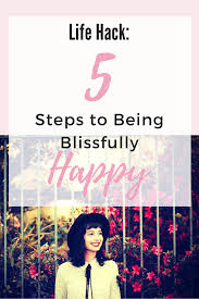 Happiness Worksheets 5 Steps To Blissful Happiness