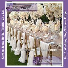 sh043a new sale ivory chiffon chiavari chair sash chair cover