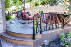 stunning composite deck project in enola pa stump u0027s decks u0026 patios
