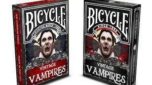 vintage vampires bicycle playing cards by nat iwata u2014 kickstarter