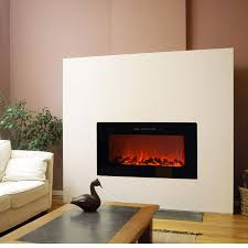 Decor Home Depot Electric Fireplaces by Top Touchstone 80004 Sideline Recessed Wall Mounted Black Electric