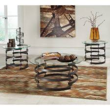 3 piece coffee table set ashley furniture contemporary coffee tables ebay