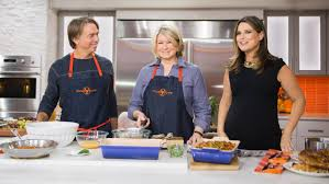 martha stewart thanksgiving turkey recipe today food u0027s all star thanksgiving finale recipes today com