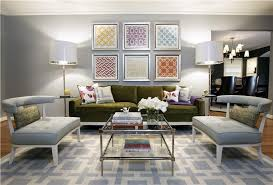 Modern Retro Home Design Contemporary Living Rooms