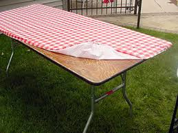 fitted picnic table covers kwik covers fitted 8ft table covers
