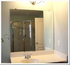 How To Remove Bathroom Mirror How To Remove A Bathroom Mirror With Wall Mirrors Remove