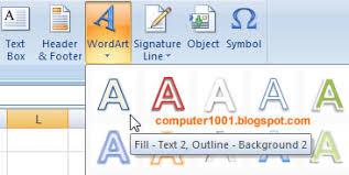 cara membuat tulisan watermark di excel 2 cara membuat watermark di excel 2007 2010 computer 1001