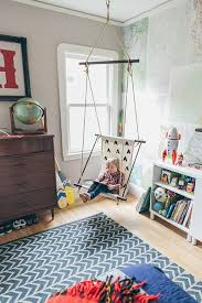 schaukel kinderzimmer kleines gemütliches kinderzimmer eine schaukel für innen