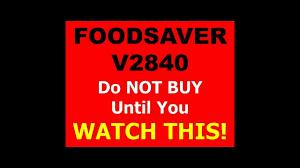 manual foodsaver foodsaver v2840 foodsaver v2840 best price v2840 food saver