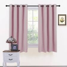 Baby Pink Curtains Baby Pink Curtains Windows Thermal Insulated Bedroom Eyelet