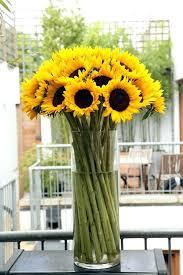 sunflower centerpieces sunflower silk flower bouquet sunflower floral arrangements