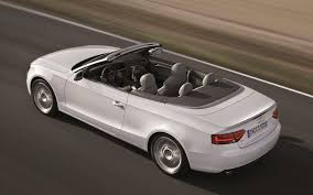 white audi a5 convertible white audi a5 convertible coming the road backgrounds a5