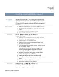 how to write computer knowledge in resume dental surgeon resume samples and templates dental surgeon template
