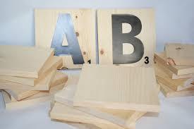unfinished wood scrabble tiles squares wood scrabble letters
