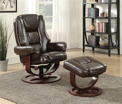 coaster chenille glider and ottoman in chocolate glider recliner chair with matching ottoman by coaster 600086