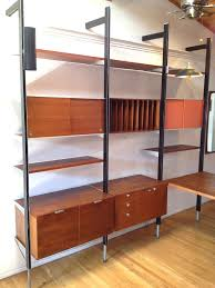 Wall Units With Storage Wall Unit With Desk Smart Storage Solution For Home Office