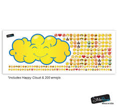 emoji quote pics happy cloud raining 200 emojis graphic decal 6093