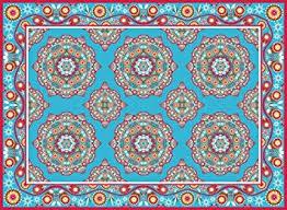 amazon com matart decorative vinyl floor mat for kitchen