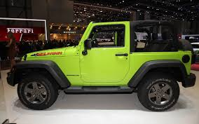 gecko green jeep first look new special edition jeep wrangler grand cherokee
